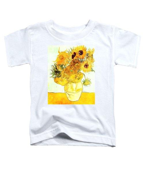 Sunflowers Van Gogh Toddler T-Shirt
