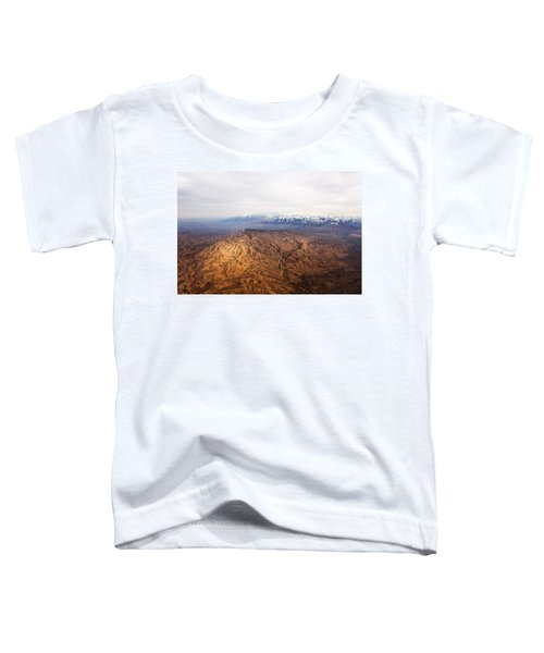 Sunlight And Snow-capped Peaks Toddler T-Shirt