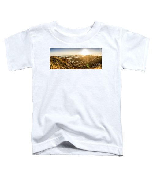 Sunlit Seaside Toddler T-Shirt