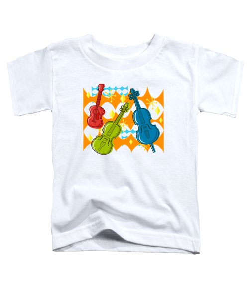 Sunny Grappelli String Jazz Trio Composition Toddler T-Shirt