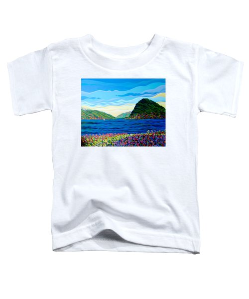 Sunny Swiss-scape Toddler T-Shirt