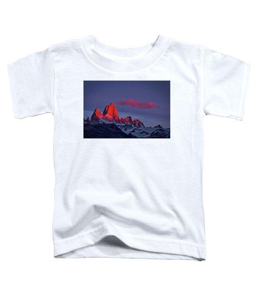 Sunrise At Fitz Roy #3 - Patagonia Toddler T-Shirt