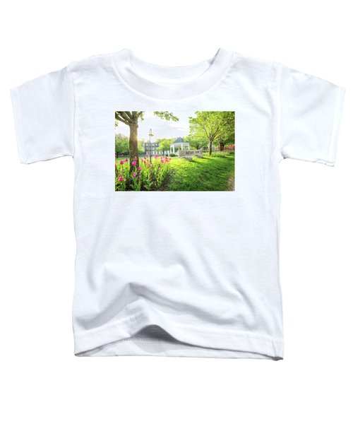 Sunrise At Rotary Park Toddler T-Shirt