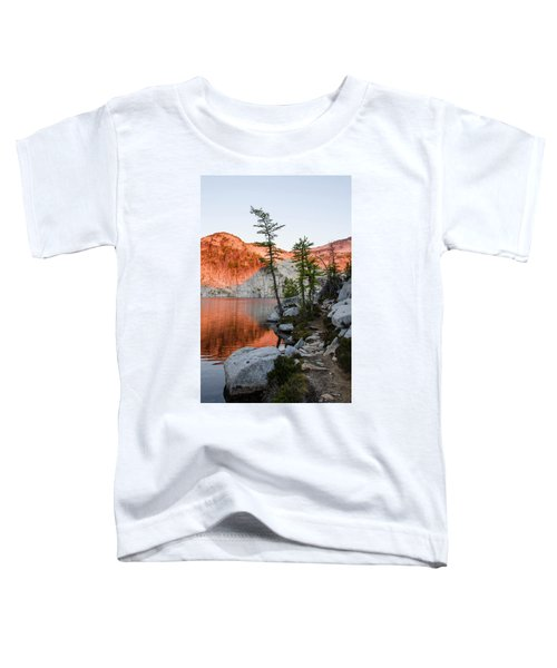 Sunrise In The Enchantments Toddler T-Shirt