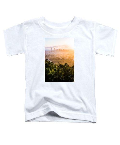 Sunrise Over Brisbane Toddler T-Shirt