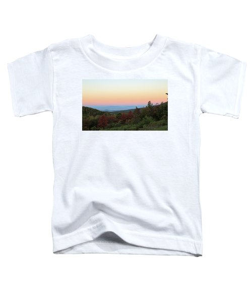 Sunrise Over The Shenandoah Valley Toddler T-Shirt