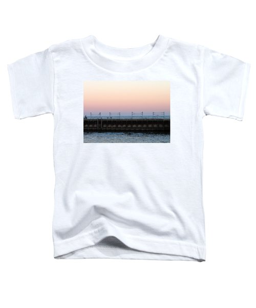 Sunset At Diversey Harbor Toddler T-Shirt