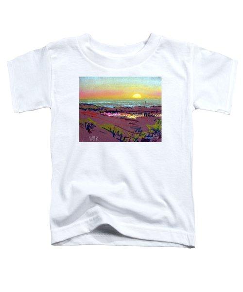 Sunset At Half Moon Bay Toddler T-Shirt