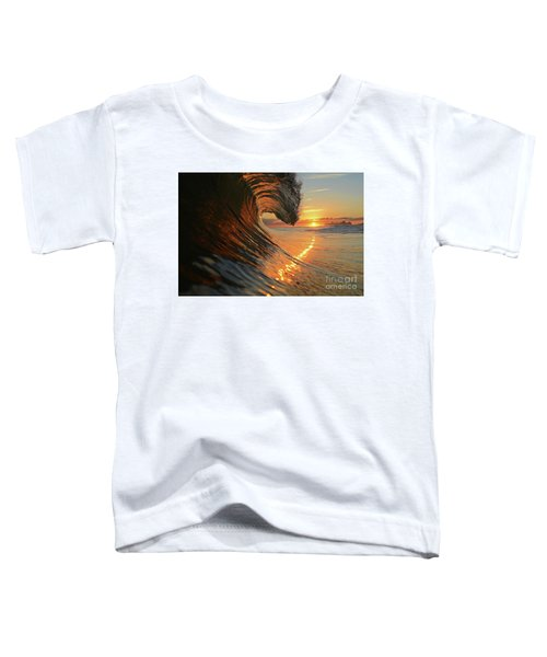Sunset From Sea Toddler T-Shirt