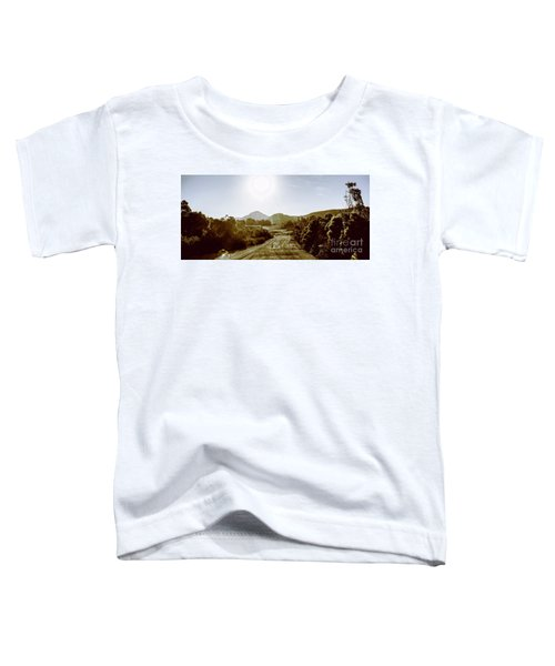 Sunset On Rural Zeehan Toddler T-Shirt