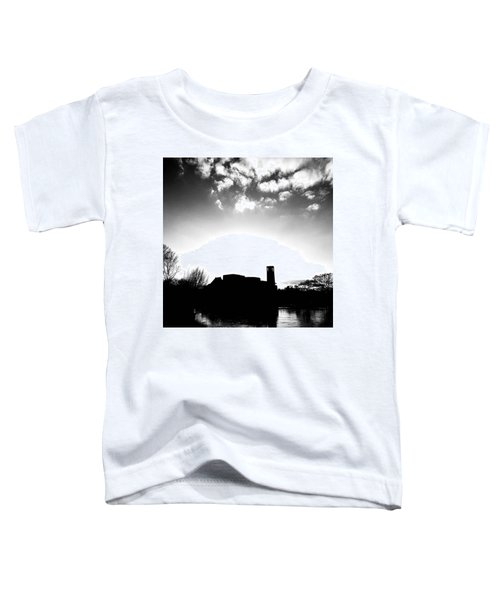 Sunset Over The Royal Shakespeare Company. Toddler T-Shirt