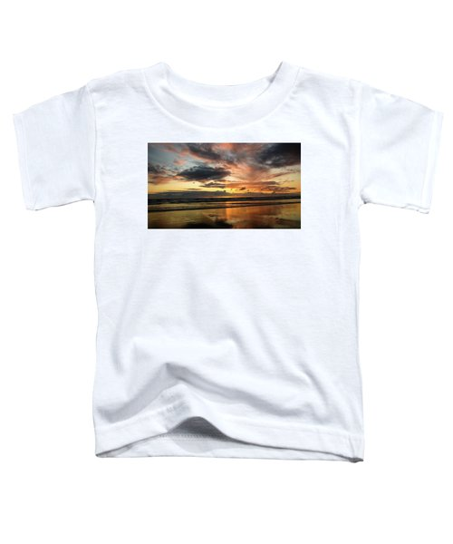 Sunset Split Toddler T-Shirt