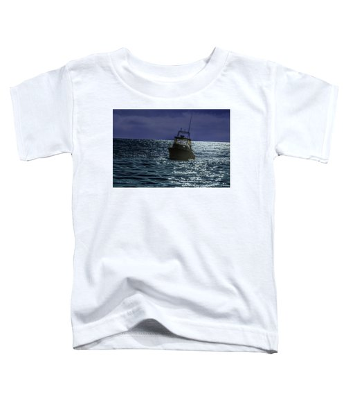 Sunsetting On Fisher Betting Toddler T-Shirt