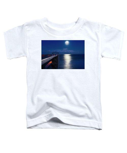 Super Moon At Juno Toddler T-Shirt