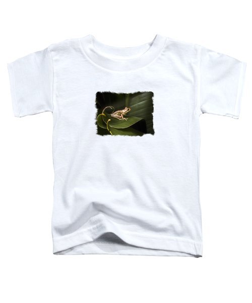 Toddler T-Shirt featuring the photograph Surfing The Wave Bordered by Debra and Dave Vanderlaan