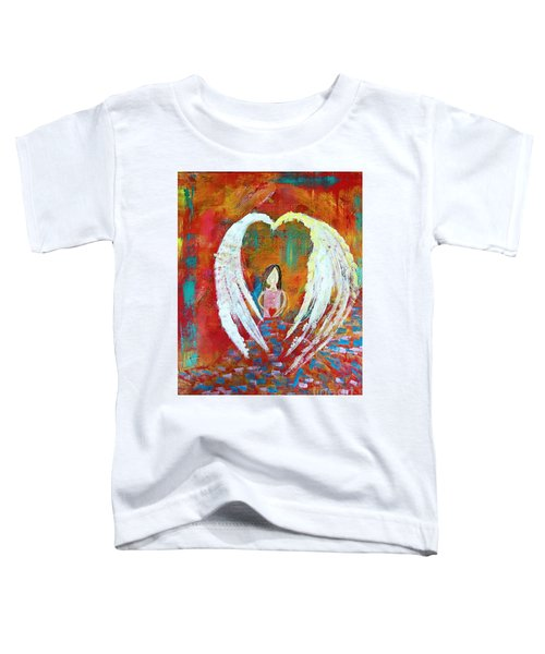 Surrounded By Love Toddler T-Shirt
