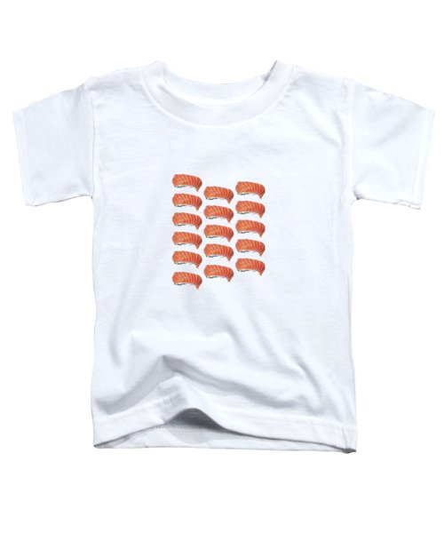 Sushi T-shirt Toddler T-Shirt by Edward Fielding