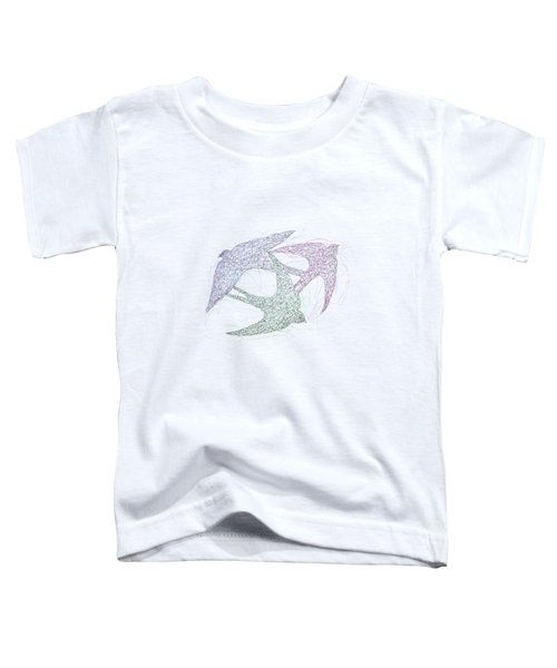 Swallow Birds Motion Design  Toddler T-Shirt