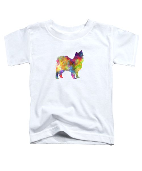 Swedish Lapphund In Watercolor Toddler T-Shirt
