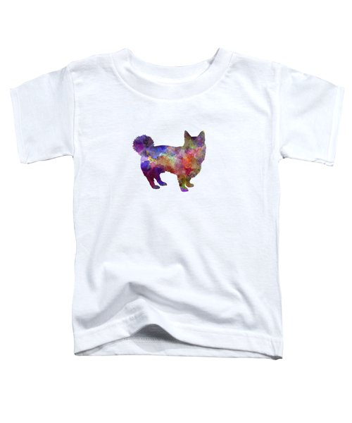Swedish Vallhund In Watercolor Toddler T-Shirt