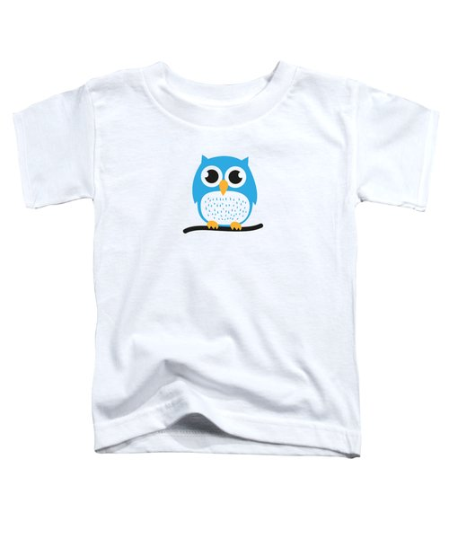 Sweet And Cute Owl Toddler T-Shirt