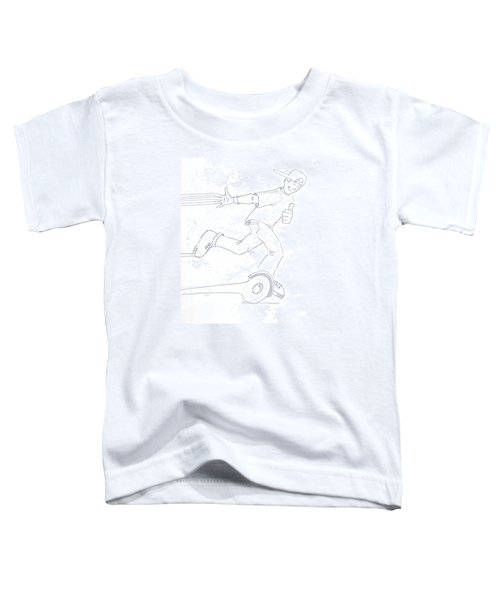 Swegway Hoverboard Fun Cartoon Toddler T-Shirt