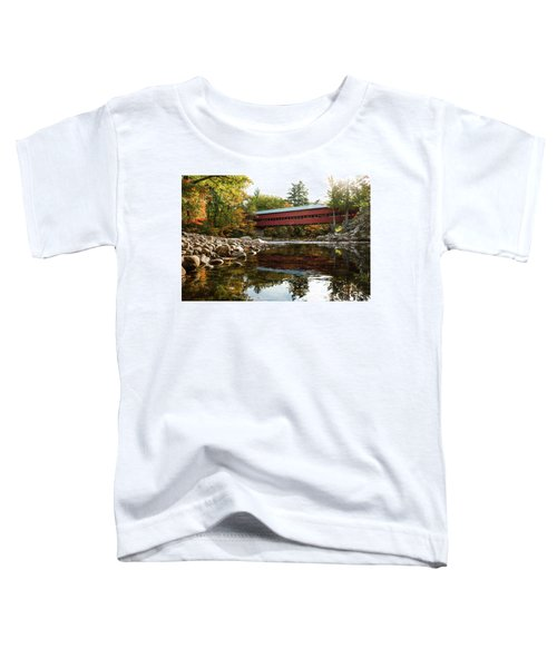 Swift River Covered Bridge Toddler T-Shirt