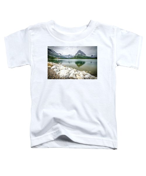 Swiftcurrent Lake Toddler T-Shirt