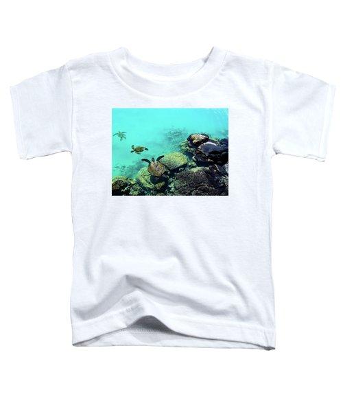 Swimming Honu Toddler T-Shirt