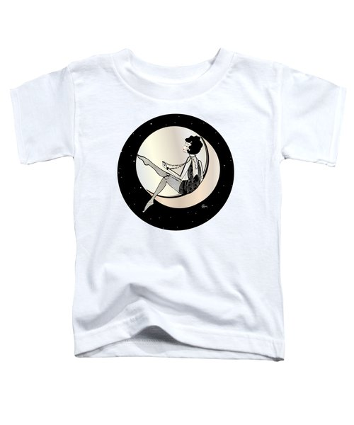 Swinging On The Moon Toddler T-Shirt