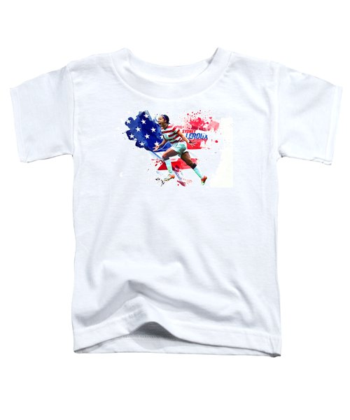 Sydney Leroux Toddler T-Shirt by Semih Yurdabak