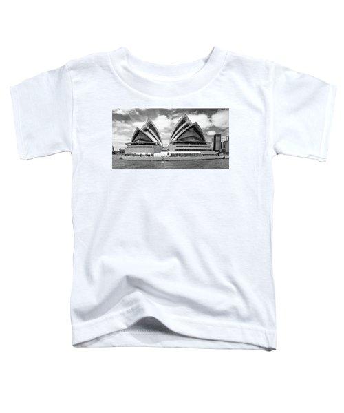 Sydney Opera House No. 1-1 Toddler T-Shirt by Sandy Taylor