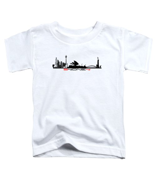 Sydney Skyline Toddler T-Shirt
