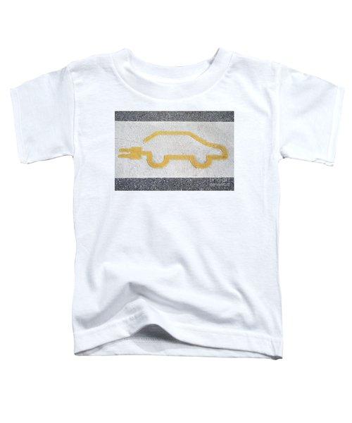 Symbol For Electric Car Toddler T-Shirt