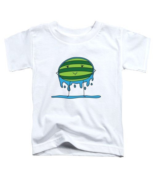 T H E . E L E M E L O N S ______________ W A T E R M E L O N Toddler T-Shirt by H U M E A I M A R T