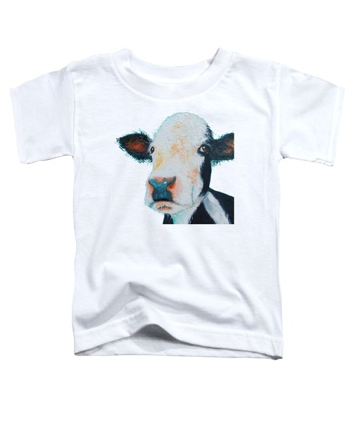 T-shirt With Cow Design Toddler T-Shirt