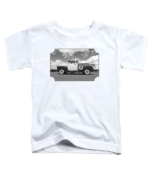 Take Me With You - Black And White Toddler T-Shirt