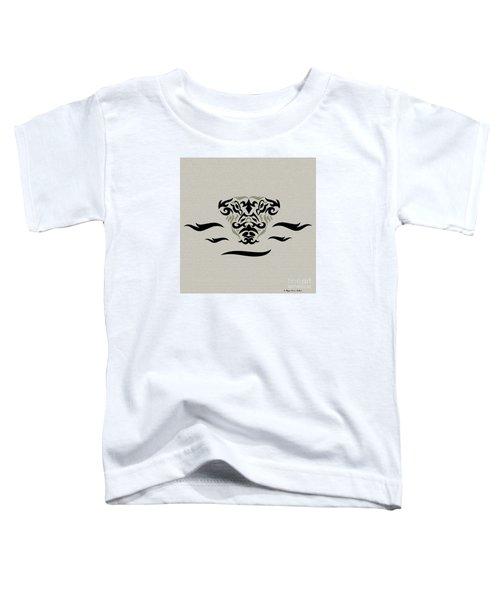 Tan Tribal Gator Toddler T-Shirt