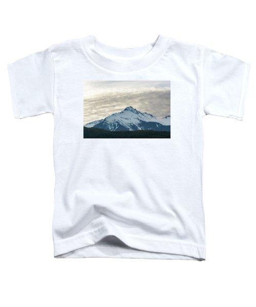 Tantalus Mountain Range Closeup Toddler T-Shirt