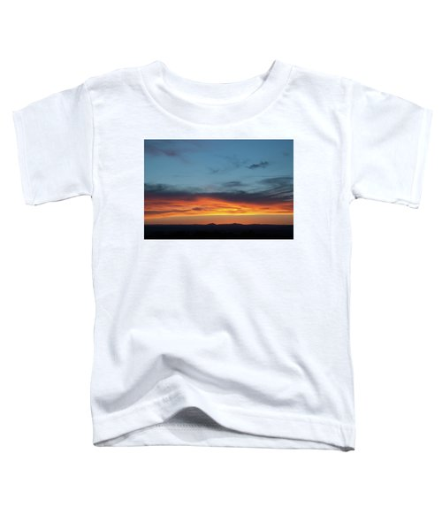 Taos Mesa Sunset Toddler T-Shirt