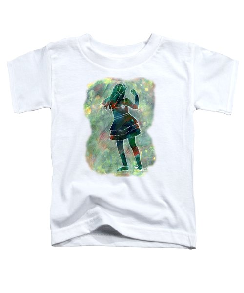 Tap Dancer 1 - Green Toddler T-Shirt