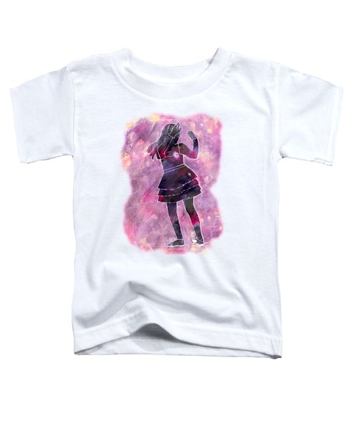 Tap Dancer 1 - Pink Toddler T-Shirt