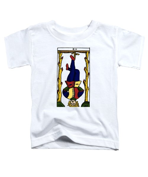 Tarot Card The Hanged Man Toddler T-Shirt