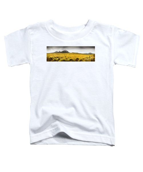 Tasmania Mountains Of The East-west Great Divide  Toddler T-Shirt