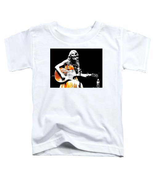 Taylor Swift 9s Toddler T-Shirt by Brian Reaves