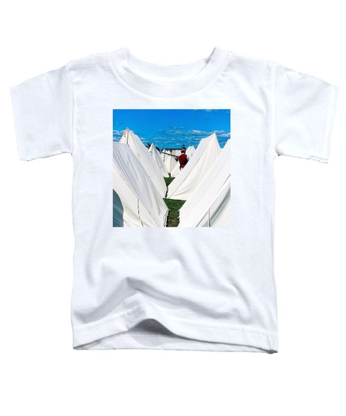 Field Of Tents Toddler T-Shirt