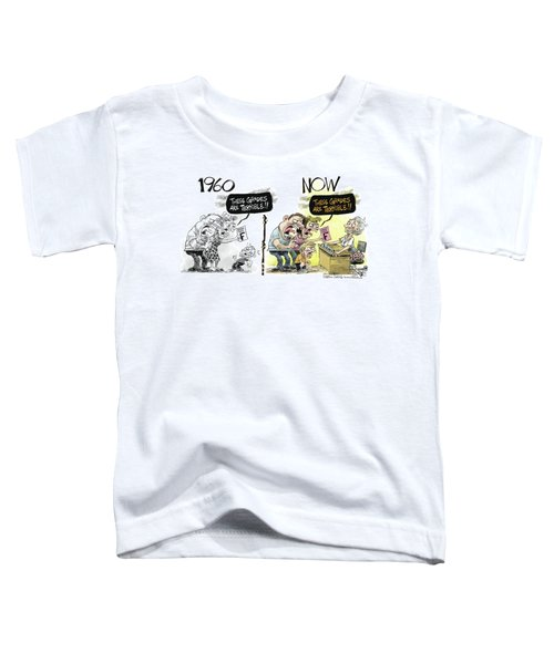 Teachers Then And Now Toddler T-Shirt