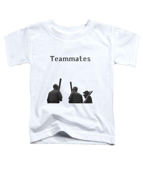 Teammates Poster - Boston Red Sox Toddler T-Shirt
