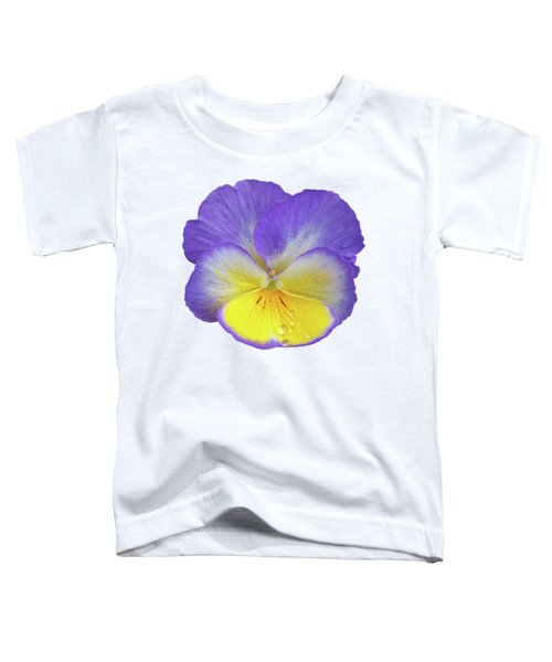 Tears Of Joy - Purple Pansy Toddler T-Shirt