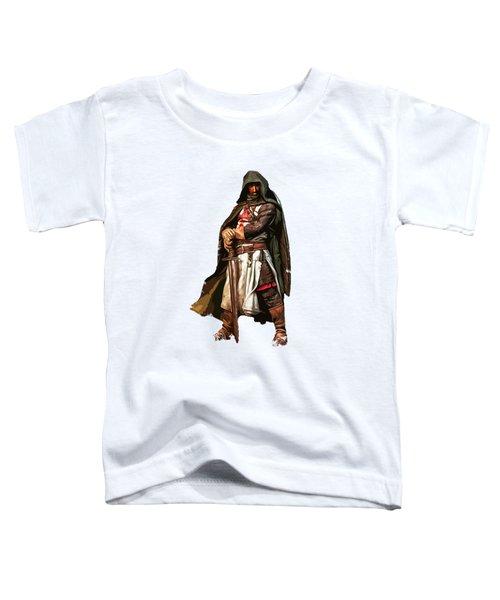 Templar Medieval Warrior Toddler T-Shirt